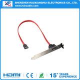USB ad alta velocità 2.0 SATA di 20cm per alimentare il cavo del eSATA
