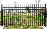 Acier galvanisé noir de haute qualité et la rampe de clôtures de jardin