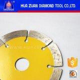 Lâmina de serra segmentada pressionada quente de 110 mm