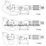 35-50мм V-контрножом микрометров вне измерительного инструмента