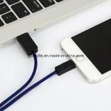 2m 인조 인간 자료 선을%s 마이크로 USB 케이블 이동 전화 데이터 케이블