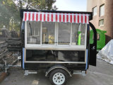 Kiosque de chariot de nourriture de vente de rue