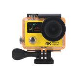 H3 verdoppeln der Bildschirm-Vorgangs-Kamera-4k wasserdichtes DV DVR 170d Objektiv Sport-Arbeitsweg-der Kamera-