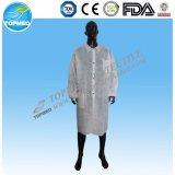 Wegwerfchemie-Labormantel-Laborproduktionen des doktor-Gown
