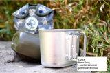 Бутылка воды алюминиевой чашки крышки Camo армии воинская
