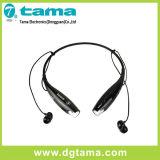 Hbs-730 Casque stéréo Bluetooth sans fil Noir Collier rouge pour téléphone intelligent