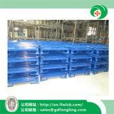 Подгонянный складывая контейнер ячеистой сети для пакгауза Forkfit