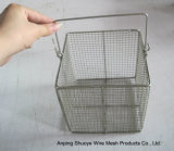 金属線の網の揚げ物オイルのバスケット