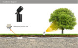 IP67 riflettore chiaro della lampada 3W LED del CREE LED per illuminazione di progetto LED del giardino