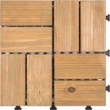 DIYパターンバルコニーのための木の屋外のDeckingのタイル