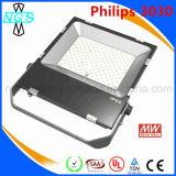 Indicatore luminoso di inondazione di Philips LED 200W con RoHS SMD diplomato Ce LED Meanwell chiaro