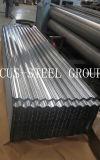 El cinc cubrió el material para techos galvanizado /Corrugated rodado material para techos galvanizado del metal de la hoja