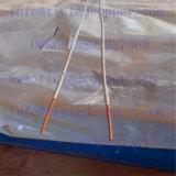Collegare di rame di Dsa/anodo placcati di titanio del Rod per industria dell'Cloro-Alcali