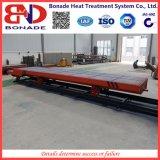 focolare del carrello ferroviario 650kw che tempera fornace per il trattamento termico