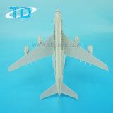 Пластиковый Craft A380 авиакомпании Etihad 37см пассажирского самолета модели для деловых подарков
