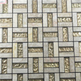 Het goede Mozaïek van de Steen van de Kleur van de Prijs Gouden Glas Gemengde voor Binnenlandse Muur