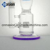 Conduite d'eau en verre de divers de couleurs percolateur de matrice (BY006)
