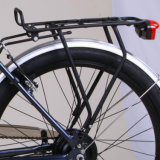 Refrescar la bici eléctrica diseñada de la suspensión completa para los hombres