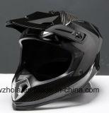 2017 новый материал из углеродного волокна напрямик мотоцикл, Креста Racing шлем с ЕЭК омологации