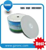 CD-ROM blanc imprimé à jet d'encre blanc pour CD Musique