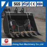 A cubeta de esqueleto da máquina escavadora de PC200 PC300 Sift a cubeta da rede da cubeta
