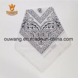 Wholesale Different Deisgn Fines Use White Cotton Bandana