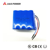 22.2V 18650 Lithium rechargeable 4400mAh Batterie Li-ion Pack 6s2p