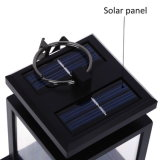 2PCS蝋燭のランタンの太陽エネルギーLEDランプ
