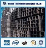Sección soldada tubo cuadrado de acero grande hueco