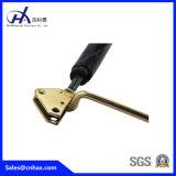 Suporte Lockable preto de aço da compressão da grande carga do peso que trava os choques da mola de gás para o equipamento médico com o monofone com conetor da U-Forma