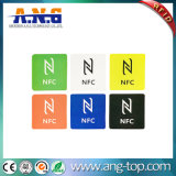 Ntag216 Ntag215 Contactless 13.56MHz Hf de etiquetas de RFID para telemóvel