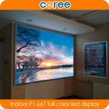 Alta Definição para interior P1.667 SMD LED de cor total