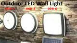 Indicatore luminoso esterno della parete della paratia 18W LED di vendite calde in IP65