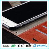 Кожаный iPhone 6 аргументы за гнезд для платы рамки/6 добавочное/6s/6s плюс