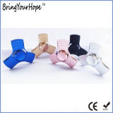 Populärer 3 Blatt-dreieckiger Unruhe-Handmetallspinner (XH-HS-004)