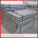 El apoyo del andamio pintó/apoyo ajustable galvanizado del metal