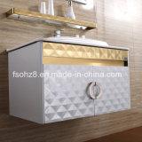 棚(081)との金白い方法ステンレス鋼の浴室の虚栄心