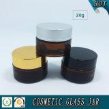 Bocal de stockage de verre cosmétique Amml de 20 ml