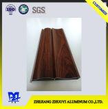 Perfis da liga de alumínio da alta qualidade para as portas de alumínio com superfície de madeira