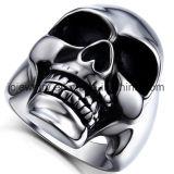 형식 스테인리스 두개골 반지