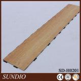 Декоративной панель пола тимберса деревянной прокатанная отделкой