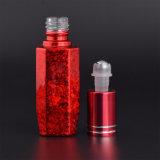 10ml Rolo de vidro no vidro do vaso de perfume Garrafa com tampa de plástico ou Electroplate