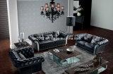 Домашняя софа неподдельной кожи мебели (SBO-2739)