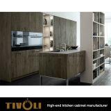 プレハブのキャビネットのベニヤの白い絵画食器棚Tivo-0144V