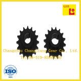 La norme ANSI industrielle de chaîne cannellent la roue de pignon normale d'OIN