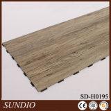 装飾的な材木の木製の終わりによって薄板にされる床板