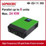 1000년 - 5000va PWM 태양 책임 관제사를 가진 잡종 떨어져 격자 DC/AC 태양 에너지 변환장치