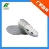 Zapatos del ESD 4-Hole, zapato de trabajo antiestático, zapatos del PVC del recinto limpio