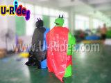 Opblaasbare het Worstelen van Sumo van de Kostuums van Sumo van de Mens van de Knuppel van de Spelen van Sporten Schuim Opgevulde Kostuums Sumo