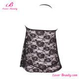 Романтичной напечатанное вышивкой женское бельё открытой чашки сексуальное